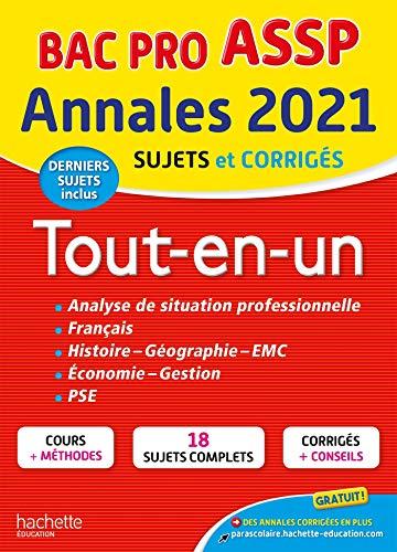 Annales Bac 2021 Tout-en-Un Bac Pro ASSP