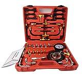 ThreeH Tester per pressione del carburante diesel, pompa di iniezione, universale per manometro a benzina, strumento diagnostico, contatore del carburante MA04