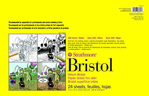 Strathmore Paper 300 Series Bristol Smooth Pad
