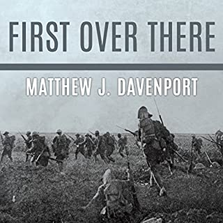 First Over There audiobook cover art