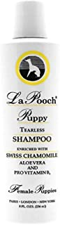 Les Pooch, FEMALE Puppy Tearless Shampoo - Tearless Shampoo for Puppies/Unique Tearless Shampoo is formulated for puppies and pets with sensitive skin.