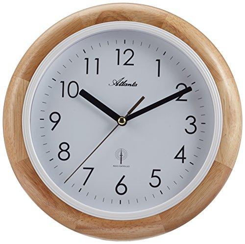 Atlanta da parete orologi Analog faggio 4323–30