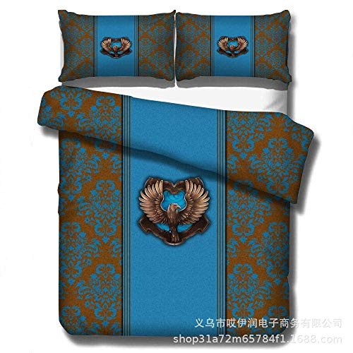 Nologo Cover Sets Bedding Set Super King Size,3D Animal Film Print Bedding Set, Single Double King Size Duvet Cover And Pillowcase, Suitable For Children'S Adult Bedroom Dress Up-G_(200 * 200Cm) 3Pcs