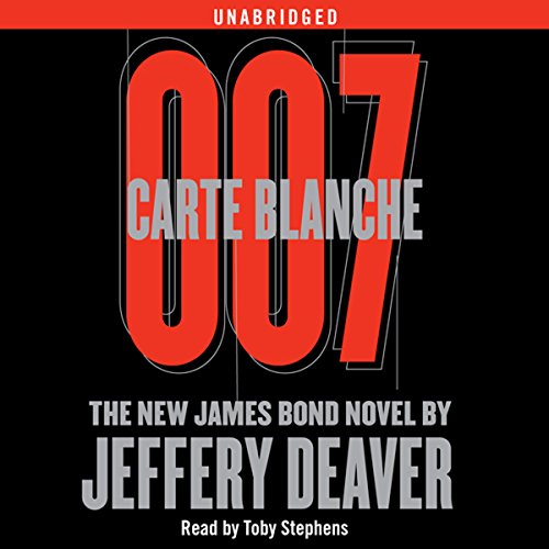 Carte Blanche Audiobook By Jeffery Deaver cover art