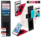 reboon Hülle für Alcatel OneTouch Pop Star 4G Tasche Cover Hülle Bumper | Rot | Testsieger