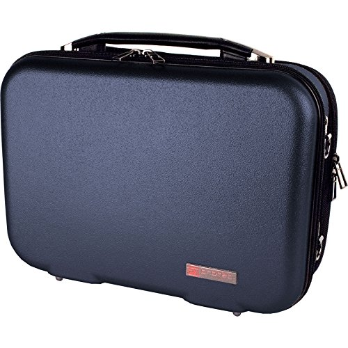 Protec ZIP Bb - Maletín para clarinete (plástico ABS, con compartimento para partituras extraíble), azul