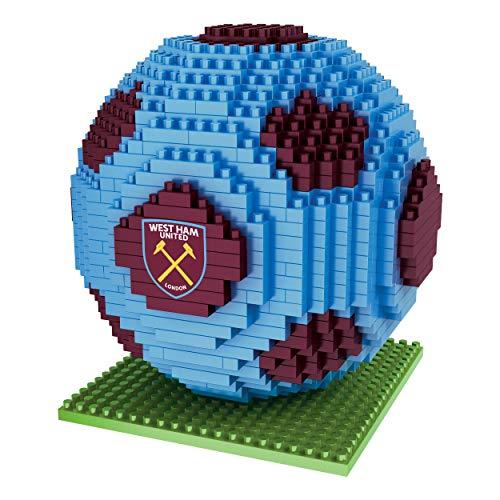 FOCO West Ham United FC EPL Premier League 3D BRXLZ Football Building Kit Gift