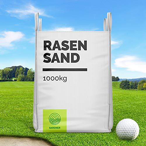 Rasensand - Quarzsand für Golfplatz im praktischen BigBag 1000 - 5000 kg - versandkostenfrei