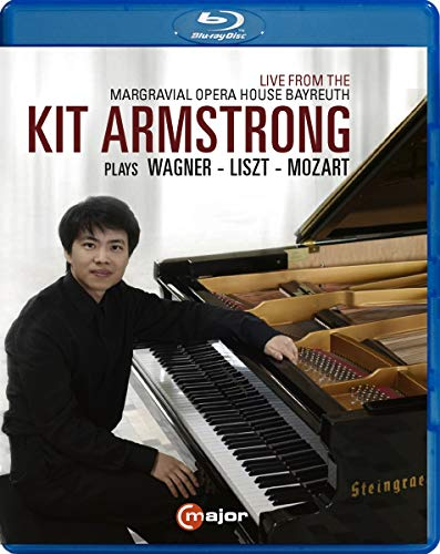 Kit Armstrong Plays Wagner [Live recording from Margravial Opera House Bayreuth, July 2019] [Blu-ray]