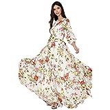 MEILINVREN Robes,Robe De Plage D'Été pour Femmes À La Mode Bohemian Long Party Dames Soirée Maxi Dress...