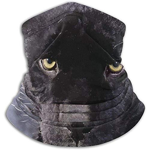 Bklzzjc Scaldacollo Black Panther: Scaldacollo, Fascia per scalda Orecchie e Maschera facciale.