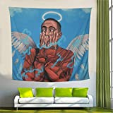 Pop art Tapestry 3D Boniquit Blanket Soft Durable Tapestry for home Decor (59.1x51.2 Inches)