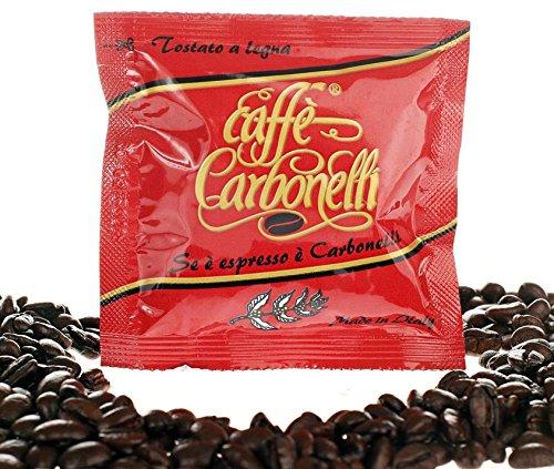 Caffè Carbonelli - 50 sobres de café, mezcla fuerte