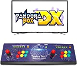 Wisamic Real Pandora's Box DX Arcade Consola de juegos: compatible con juegos 3D con clasificación Full HD, compatible con CPU mejorada, PS3, PC, TV 2, juegos, no incluye 6 botones.