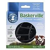Baskerville Ultra Museau, Noir (Noir), Taille 3 (Longueur:8 cm/Largeur: 28 cm)