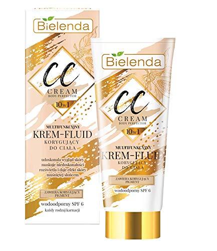 Bielenda CC 10in1 Multifunktions-Creme – Body Perfector Fluid Wasserdicht LSF6 175 ml