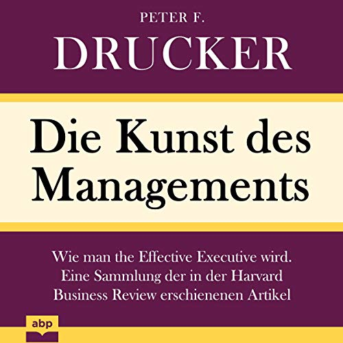 Couverture de Die Kunst des Managements