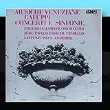 Musiche Veneziane: Baldassare Galuppi - Concerti E Sinfonie
