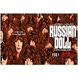 Muñeca rusa Natasha Lyonne Serie de TV Sala de estar Carteles de pared Arte de la pared Impresiones ...