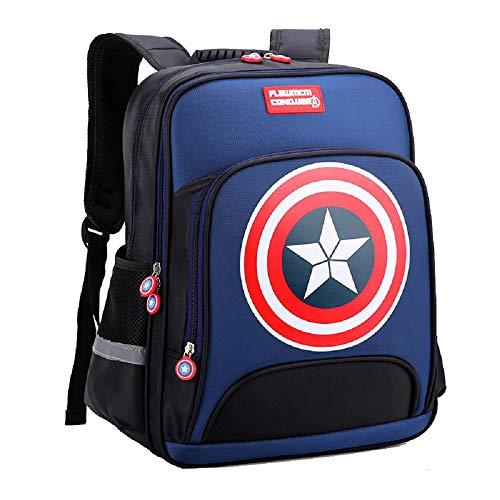 Damdos Mochilas Capitán América Niños Primaria Escuela Bolsas Adolescente Estudiante