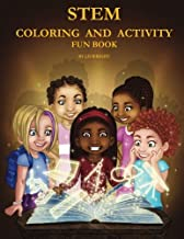 STEM Coloring and Activity Fun Book