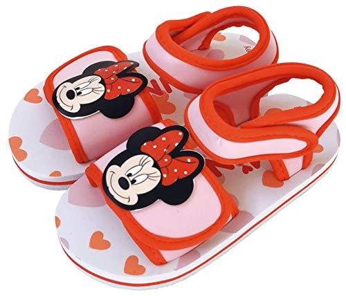 Sandales Disney Minnie Mouse pour la plage ou la piscine - Rouge - rouge, 22 EU EU