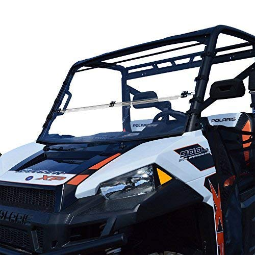 Clearly Tough Polaris Ranger Full Size Folding Windshield...