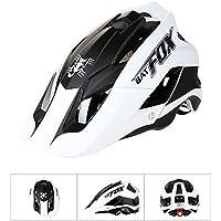 Ksruee Molie Bicycle Helmet Mountain Bike Casco de Montar de una Pieza Helmet-F-659