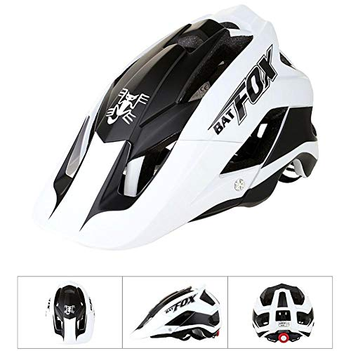 Ksruee Molie Bicycle Helmet Mountain Bike Casco de Montar de una Pieza Helmet-F-659