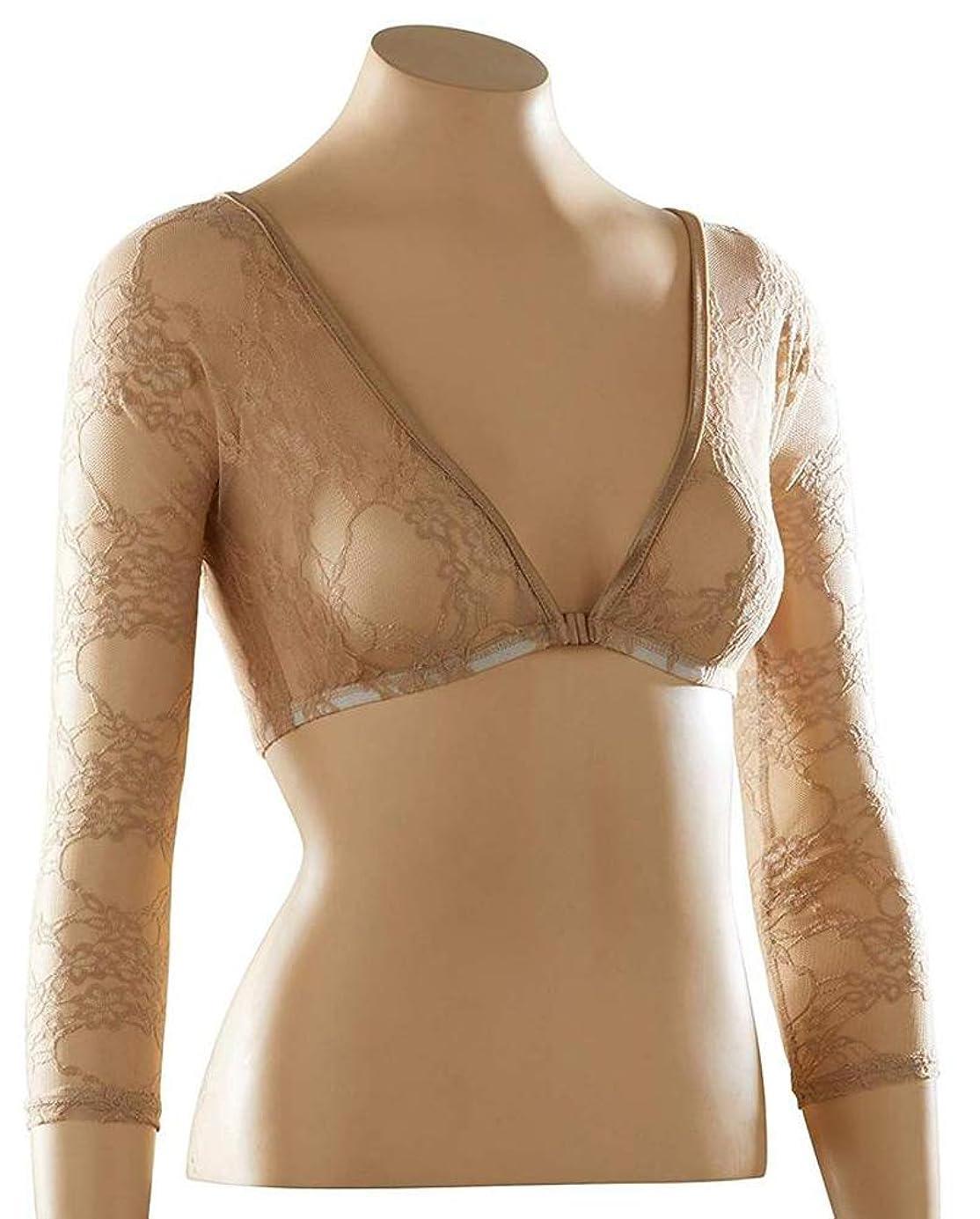 Sleevey Wonders Women's Basic 3/4 Length Slip-on Lace Sleeves trwaqp2253