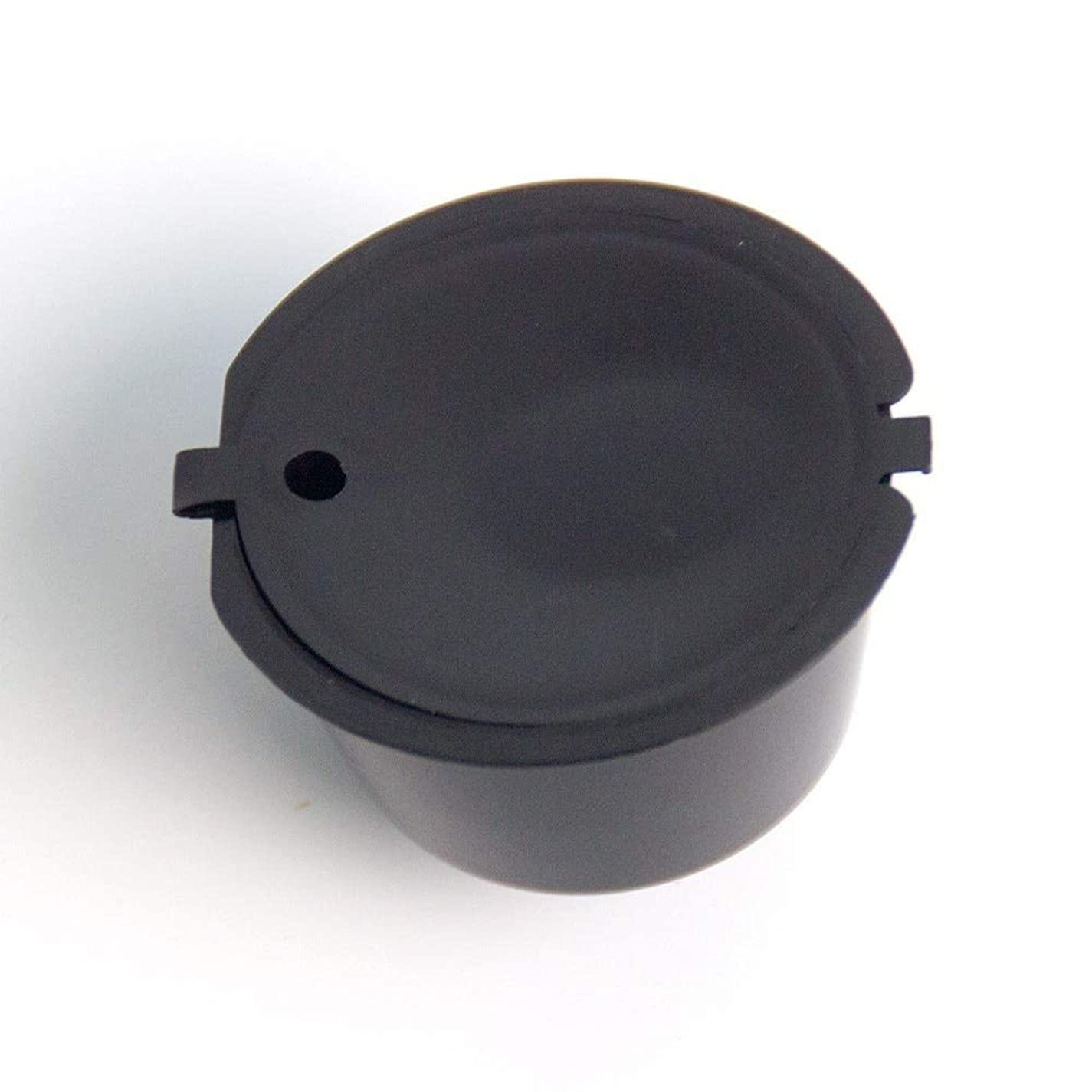 Maxcrestas - 1個11色プラスチック詰め替えコーヒーカプセルカップ200タイムズネスカフェドルチェグストフィルターバスケットのカプセルのための再利用可能な互換性