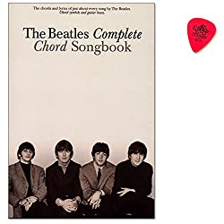 The Beatles Complete Chord Songbook-Great Collection Caractéristiques All 194chansons Written and Sung by the Beatles/Songbook pour Chant, Guitare avec Dunlop plek
