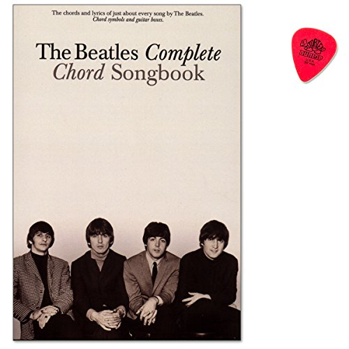 The Beatles Complete Chord Songbook - great collection features all 194 songs written and sung by The Beatles/Songbook für Gesang, Gitarre mit Dunlop Plek - 9780634022296