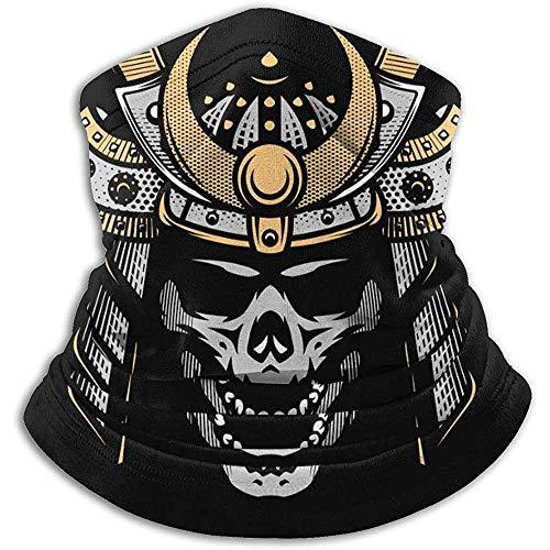 Halswärmer Gamasche, Samurai Warrior Helm Motorrad Gesichtsmaske Abdeckung Für Winter Kaltes Wetter Und Warm Halten