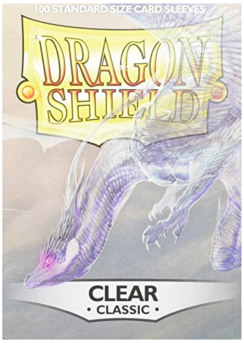 Dragon Shields AT-10001 Protective Sleeves (100-Pack), Clear