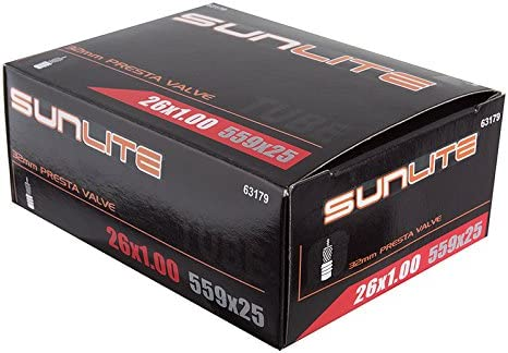 Sunlite Bicycle Outlet sale feature Tube 26 x Max 65% OFF 1.00 25 Valve 32mm PRESTA 559