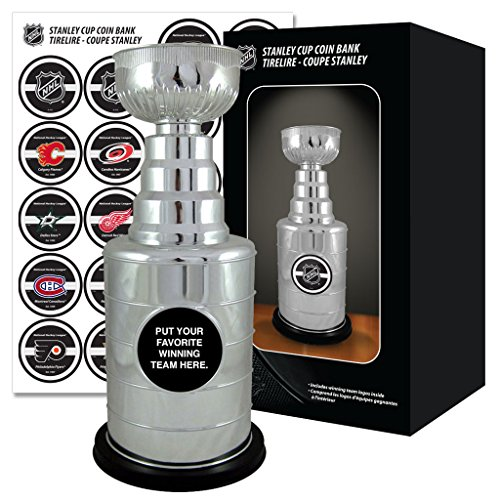 Authentic NHL Stanley Cup Coin Bank