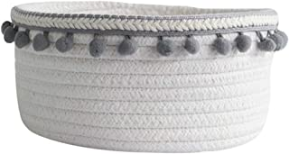 MZSC Panier De Rangement en Coton Tissé