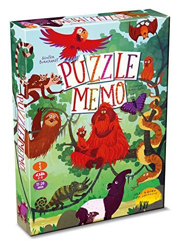 Drei Hasen in der Abendsonne GmbH 0029 Puzzle-Memo Geheimer Regenwald