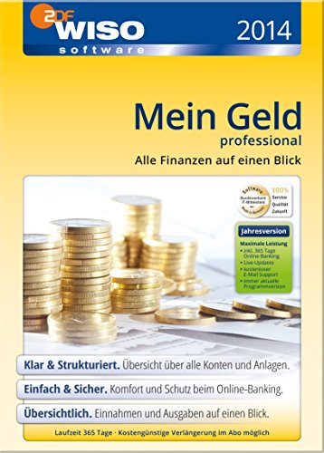 WISO Mein Geld 2014 Professional (365 Tage)