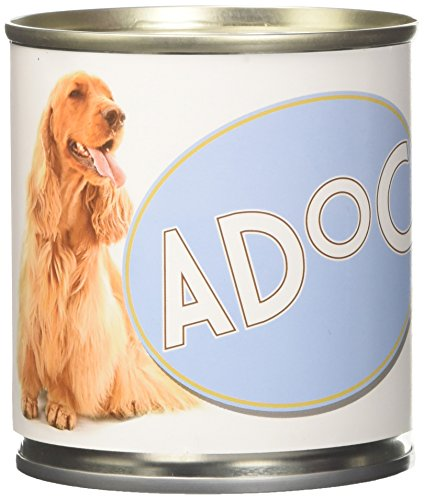 Adoc - Cibo Umido per Cani Adulti con Ingredienti Naturali Pollo con Riso e Carote - 16 lattine da 285gr