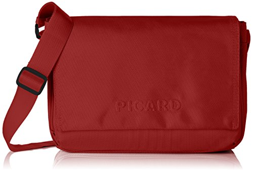 Picard Damen HITEC Umhängetaschen, Rot (Rot), 31x21x11 cm