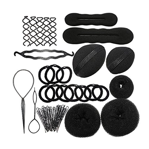 Price comparison product image PIXNOR Hair Styling Accessories Kit Set for DIY