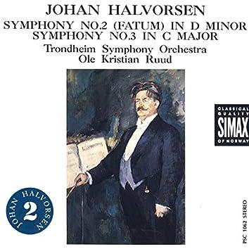 Halvorsen: Symphonies No. 2 & 3