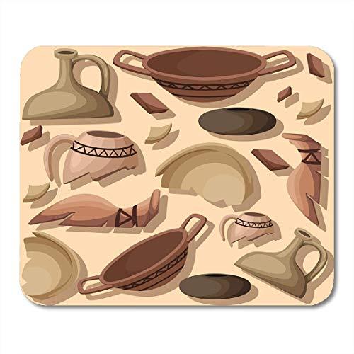 Alfombrillas de ratón Arqueología y paleontología Página de sitio de excavación arqueológica y móvil Historia antigua Arqueólogos Alfombrilla de ratón para portátiles, computadoras de escritorio Sumin