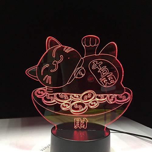 jiushixw 3D acryl nachtlampje met afstandsbediening van kleur veranderende tafellampen Luck Feet Life Lava groot glanzend geglazuurde IKEA bedlampje