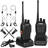 Walkies Talkies Profesionales 16 Canales CTCSS DCS,Walkie Talkie Recargables 1500mAh con Cargador...