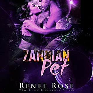 Zandian Pet     Zandian Masters, Book 7              By:                                                                                                                                 Renee Rose                               Narrated by:                                                                                                                                 Jiraiya Addams                      Length: 4 hrs and 38 mins     56 ratings     Overall 4.7