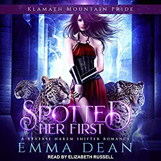 Spotted Her First                   By:                                                                                                                                 Emma Dean                               Narrated by:                                                                                                                                 Elizabeth Russell                      Length: 7 hrs and 18 mins     38 ratings     Overall 4.4