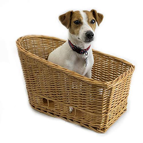 Cape May Large Rear Mount Willow Bicycle Basket
